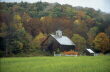 Maine Barn in Autumn