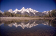 Teton River Reflection